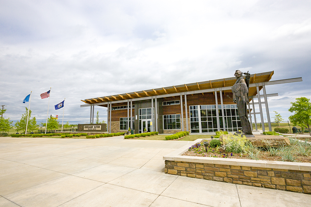 Chickasaw Nation Welcome Center Art Gallery